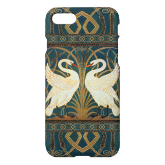 Walter Crane Swan, Rush And Iris Art Nouveau iPhone 8/7 Case