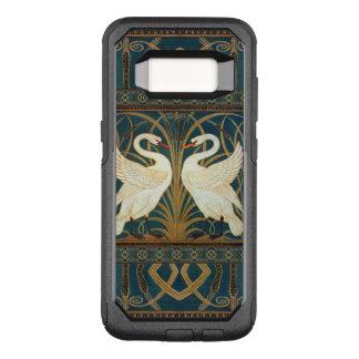 Walter Crane Swan, Rush And Iris Art Nouveau OtterBox Commuter Samsung Galaxy S8 Case