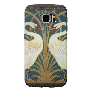 Walter Crane Swan, Rush And Iris Art Nouveau Samsung Galaxy S6 Cases