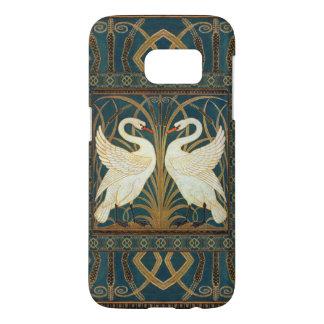 Walter Crane Swan, Rush And Iris Art Nouveau Samsung Galaxy S7 Case