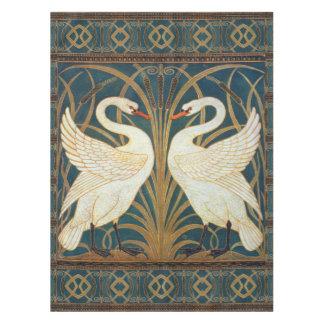 Walter Crane Swan, Rush And Iris Art Nouveau Tablecloth