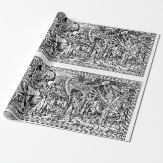 Walter Crane Triumph of Labour Wrapping Paper