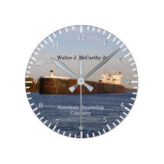 Walter J. McCarthy Jr. clock
