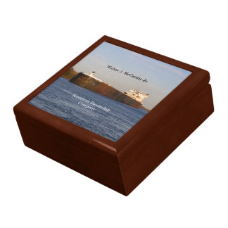 Walter J. McCarthy Jr.  keepsake box