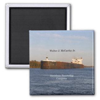 Walter J. McCarthy Jr. magnet
