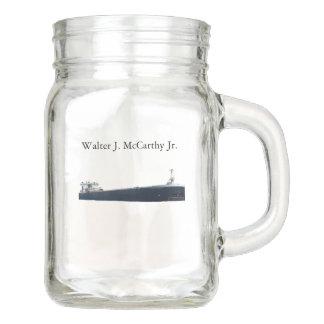 Walter J. McCarthy Jr. mason jar