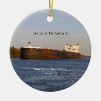 Walter J. McCarthy Jr. ornament
