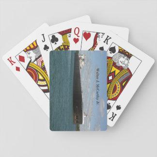 Walter J. McCarthy Jr. playing cards