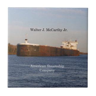 Walter J. McCarthy Jr. tile