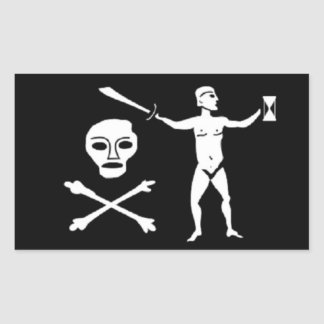 Walter Kennedy's Pirate Flag Sticker