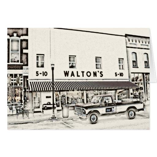 Walton's Five & Dime II Greeting Cards