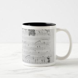 Waltz in F minor Two-Tone Coffee Mug