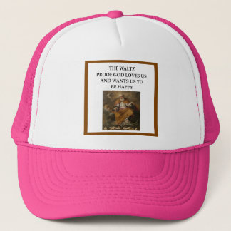 waltz trucker hat