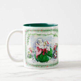 Waltzing Santa & Mrs. Claus  Mug