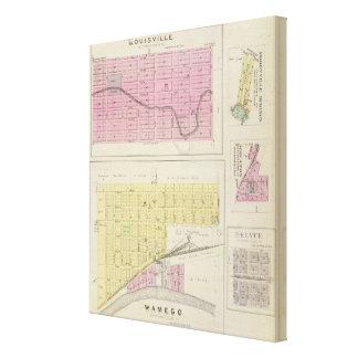 Wamego, Louisville, Kansas Stretched Canvas Prints