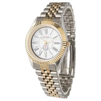 WAMS Unisex Two-Tone Bracelet Watch Link