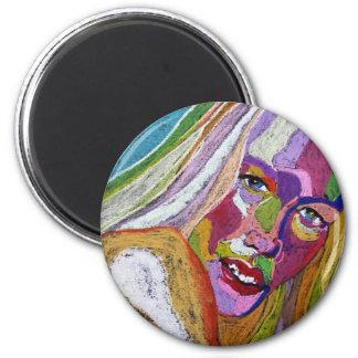 Wanda 2 Inch Round Magnet