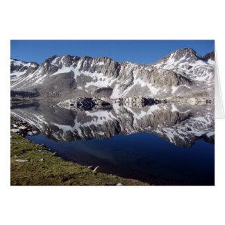 Wanda Lake, High Sierras, California Card