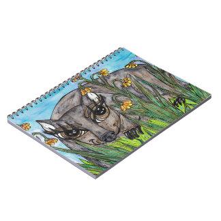 Wanda the Wombat Spiral Notebooks