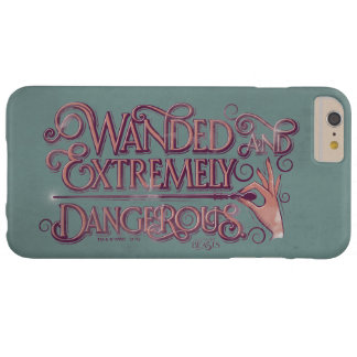 Wanded And Extremely Dangerous Graphic - Pink Barely There iPhone 6 Plus Case