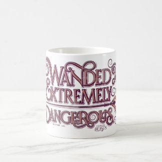 Wanded And Extremely Dangerous Graphic - Pink Coffee Mug