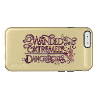 Wanded And Extremely Dangerous Graphic - Pink Incipio Feather® Shine iPhone 6 Case