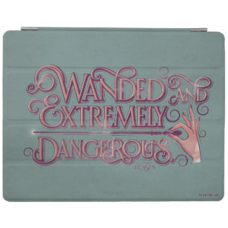Wanded And Extremely Dangerous Graphic - Pink iPad Cover