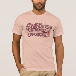 Wanded And Extremely Dangerous Graphic - Pink T-Shirt