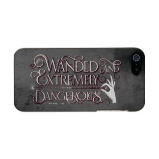 Wanded And Extremely Dangerous Graphic - White Incipio Feather® Shine iPhone 5 Case