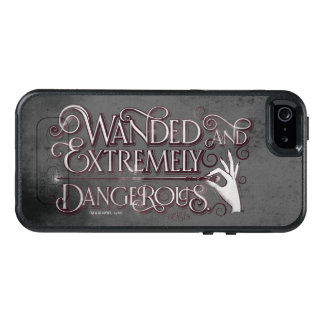 Wanded And Extremely Dangerous Graphic - White OtterBox iPhone 5/5s/SE Case
