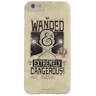 Wanded & Extremely Dangerous Wanted Poster - Black Barely There iPhone 6 Plus Case