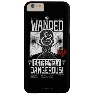 Wanded & Extremely Dangerous Wanted Poster - White Barely There iPhone 6 Plus Case