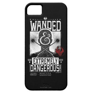 Wanded & Extremely Dangerous Wanted Poster - White Case For The iPhone 5