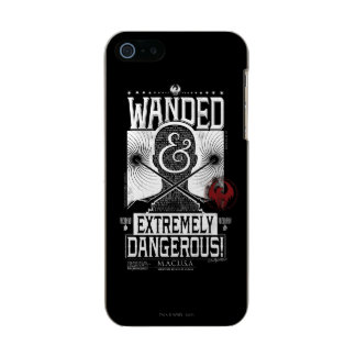 Wanded & Extremely Dangerous Wanted Poster - White Incipio Feather® Shine iPhone 5 Case