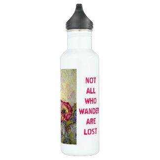 Wander Hummingbird Art Stainless Water Bottle