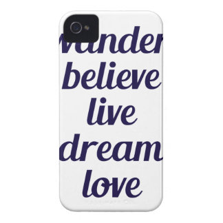 Wander iPhone 4 Covers