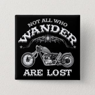 Wander Lost 1016 2 Inch Square Button