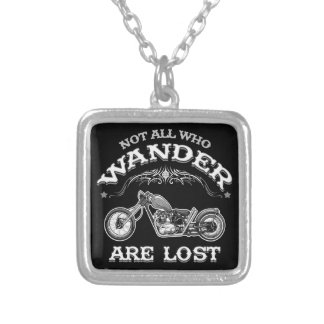Wander Lost 1016 Silver Plated Necklace