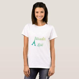 Wander Lust T-Shirt for women