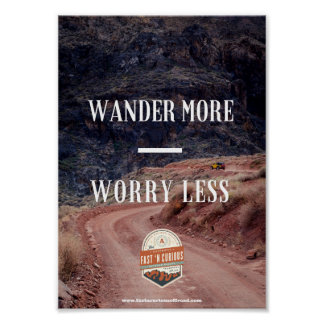 Wander More - Poster