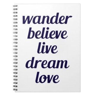 Wander Notebook