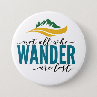 Wander Outdoors Large, 3 Inch Round Button