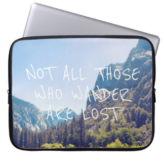 Wander Quote - Kings Canyon | Laptop Sleeve