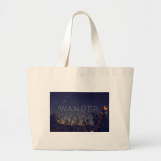 Wander Under The African Sky Large Tote Bag