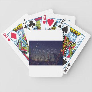 Wander Under The African Sky Poker Deck