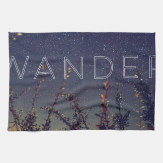 Wander Under The African Sky Towels