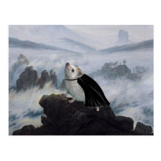 Wanderer Above a Sea of Hog Postcard
