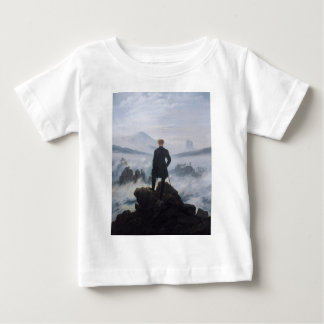 Wanderer above the Sea of Fog Baby T-Shirt