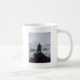 Wanderer above the Sea of Fog Coffee Mug