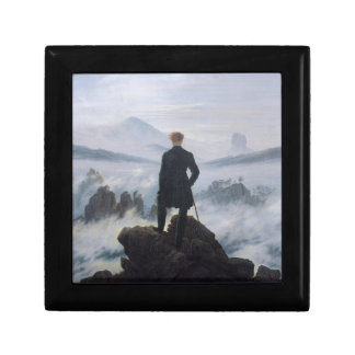 Wanderer above the Sea of Fog Keepsake Box